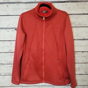 The North Face Red Fleece Lined Jacket